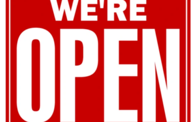 We're Open During The Coronavirus Stay-at-Home Order
